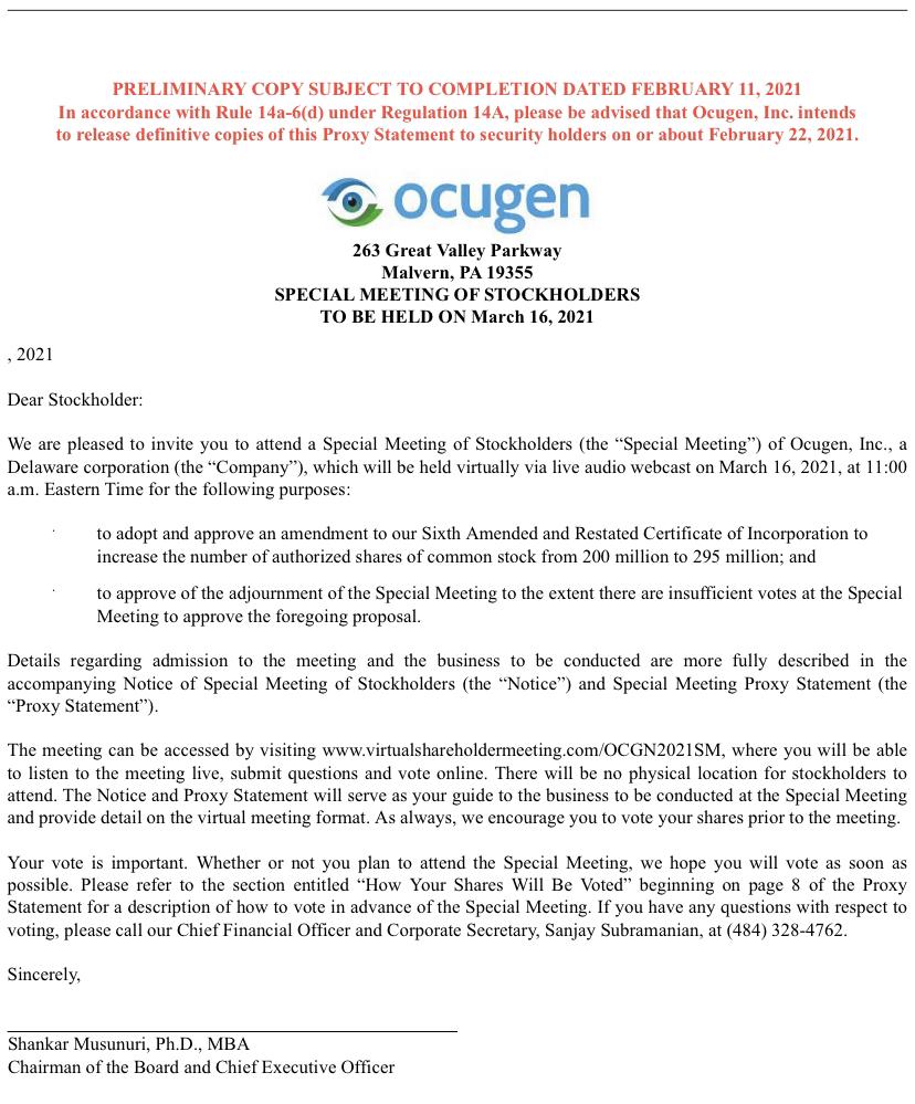 Ocugen Inc-0