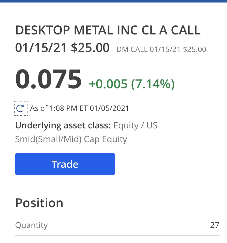 Desktop Metal Inc-0