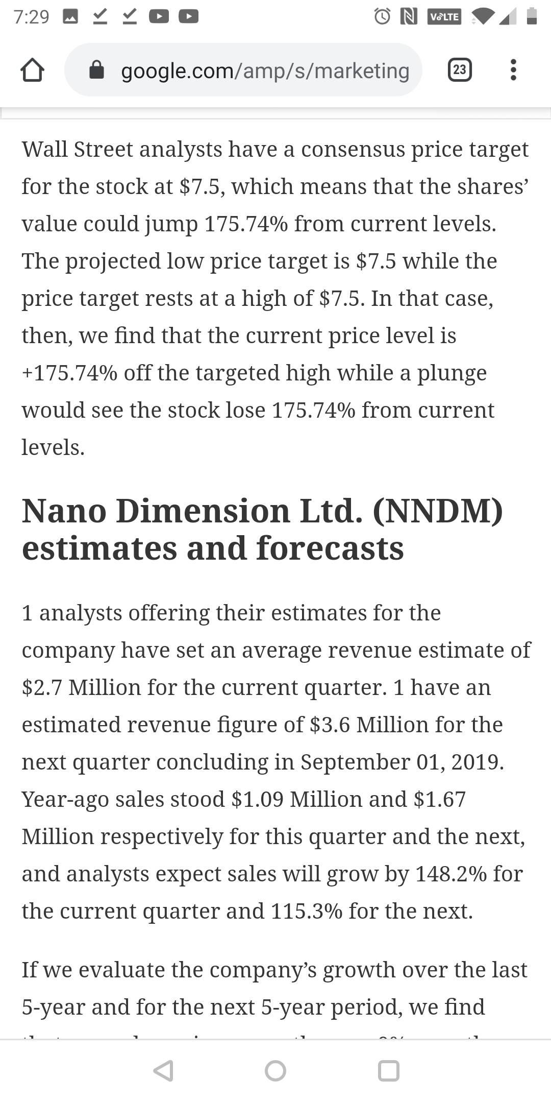 Nano Dimension-1
